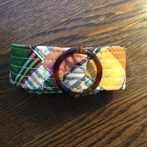 J Crew Madras Plaid Belt - NWT
